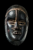 Face mask, Ivory Coast, Bete