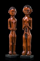 Pair of figures, D. R. Congo, Rungu