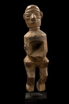 Small standing male figure, D. R. Congo, Zombo