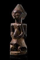 Janiform magical figure &quot;kabeja&quot;, D. R. Congo, Luba