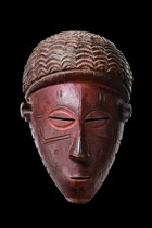 Mask &quot;mwana phwevo&quot;, Angola, Luena