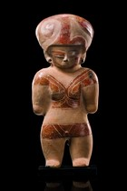 Figure of a warrior, Ecuador, Chorrera