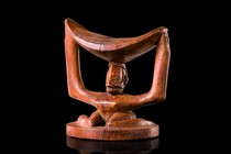 Neckrest &quot;musaw&quot;, D. R. Congo, Yaka