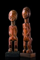 Pair of figures, Ghana, Fante