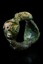 "Ankle ring of the ""ogboni"" society, Nigeria, Yoruba"