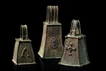 Three bells &quot;omo&quot; of the &quot;ogboni&quot; society, Nigeria, Benin