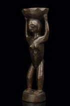 Bowl-bearing figure, Philippines - Ifugao
