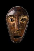 Mask &quot;lukungu&quot;, D. R. Congo, Lega