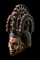 Helmmaske &quot;agbogho mmwo&quot;, Nigeria, Igbo
