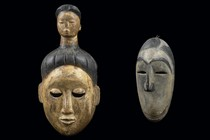 Two masks, Nigeria, Ibibio