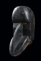"Mask ""gägon"", Ivory Coast, Dan"