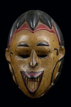 Maske &quot;okoroshi oma&quot;, Nigeria, Igbo