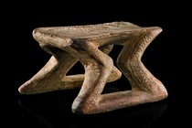 Stool, Papua New Guinea - Sepik