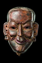 Face mask &quot;joker&quot;, Bhutan