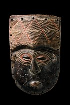Mask, D. R. Congo, Lele