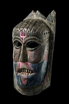 "Mask ""fagli"", India, Arunachal Pradesh"