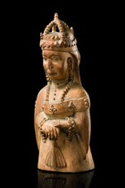 Colon figure: Queen Victoria, Nigeria, Yoruba