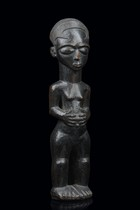 Small female figure, D. R. Congo, Kuba