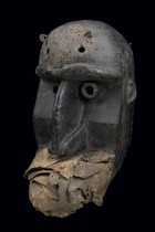 "War mask ""bugle"", Ivory Coast, Dan"