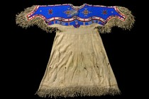 Beaded womans dress, North America, Sioux