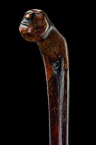 Chief's cane, North America, Iroquois