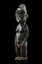 Standing female figure, Ivory Coast, Baule