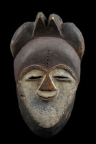 Mask, Gabon, Tsogho