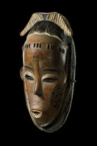 "Mask ""gu"", Ivory Coast, Guro, Area of Daloa"