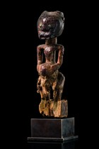 Power figure &quot;nkisi&quot;, D. R. Congo, Songe