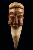 Mask &quot;kaseba&quot;, D. R. Congo, Suku