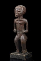 Stehende m&auml;nnliche Figur, Angola, Lunda