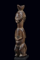 Stehende Janusfigur &quot;khosi&quot;, D. R. Kongo, Yaka