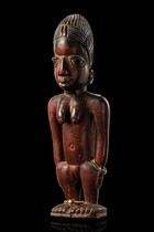 Female twin figure &quot;ere ibeji&quot;, Nigeria, Yoruba, Area of Egba