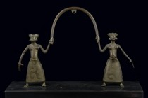 Pair of figures, Benin, Fon
