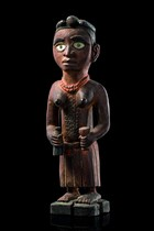 Stehende weibliche Figur, D. R. Kongo, Vili