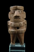 Small standing figure, Peru, Chavin