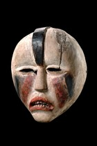 Mask of the &quot;ndunga&quot; society, D. R. Congo, Woyo
