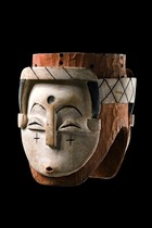 Two-faced helmet mask, Gabon, Vuvi