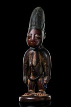 Female twin figure &quot;ere ibeji&quot;, Nigeria, Yoruba, Area of Oshogbo - Oyo