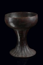 Bowl in in shape of a goblet, Indonesia - Sulawesi, Toraja