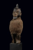 Standing male power figure &quot;biteki&quot;, D. R. Congo, Teke