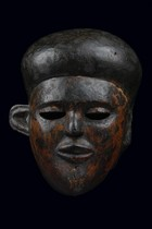 Maske &quot;mfon ekpo&quot;, Nigeria, Ibibio