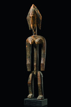 Stehende weibliche Figur &quot;jo nyeleni&quot;, Mali, Bamana