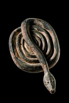 Snake mask, D. R. Congo, Ngbaka