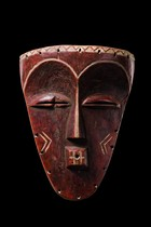 Face mask &quot;minyangi&quot;, D. R. Congo, Pende Kasai, Pende (East)