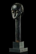 "Head sculpture of a ""bieri"" - reliquary, Gabon, Fang"