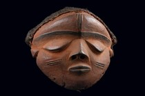 Mask &quot;mbuya&quot;, D. R. Congo, Pende (West)