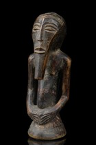 "Small power half-figure ""kakudji"", D. R. Congo, Kasongo"