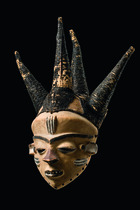Mask &quot;phumbu&quot;, D. R. Congo, Pende