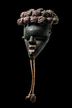 Maske &quot;kasangu&quot;, D. R. Kongo, Salampasu